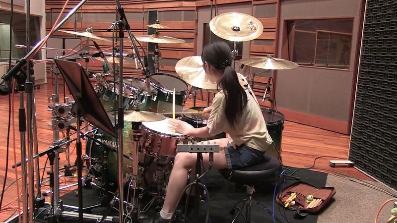 戦闘BGM IXTL 菊田裕樹 川口千里Drums Rec @収録スタジオ