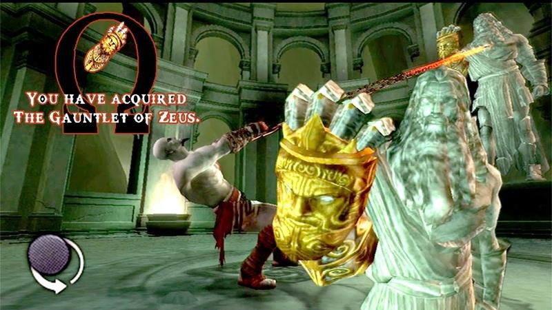 GOD OF WAR The Gauntlet Of Zeus Kratos Đoạt Lấy Găng Tay Của Zeus godofwar