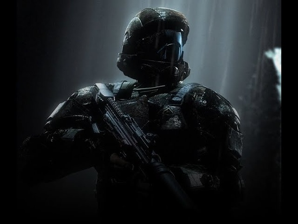 Halo 3 ODST but the Rookie can talk and it's only cutscenes with him involved