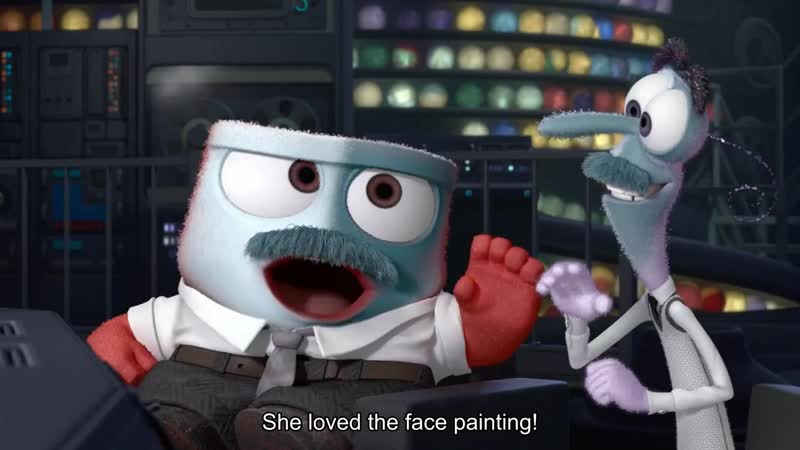 She loved the face painting