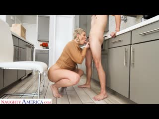 Ryan Keely - Makes The Delivery Boy A Cock Sandwich Between Her