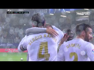 Эйбар  Реал Мадрид. Пенальти Серхио Рамоса