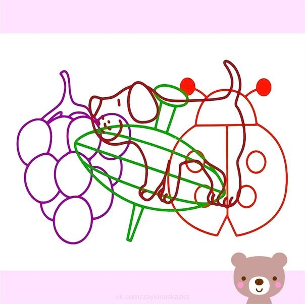 КАКИЕ ПРЕДМЕТЫ НА РИСУНКЕ Развивающие кapточки для малышей