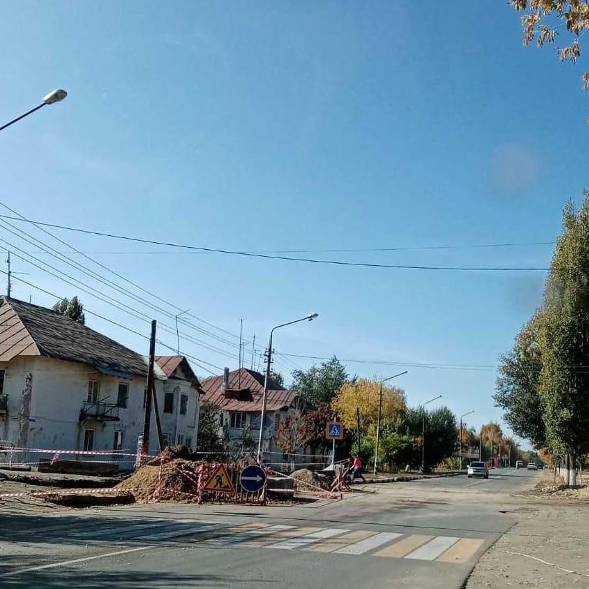 В Петровске восстановлено движение автотранспорта по улице Гоголя