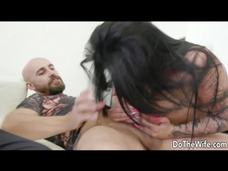 #Pron 1149   Ashley CumStar - Shameless Wife Makes Hubby Watch