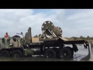 Как делают дороги военные