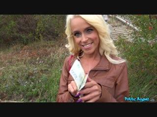 [PublicAgent] Sophie Logan - Tattooed busty German blonde MILF New Porn 2019