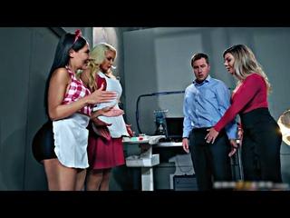 BrazziBots (Part-1) Featuring Riley Reid, Karma Rx, Lela Star, Nicolette Shea - Flying Chappal