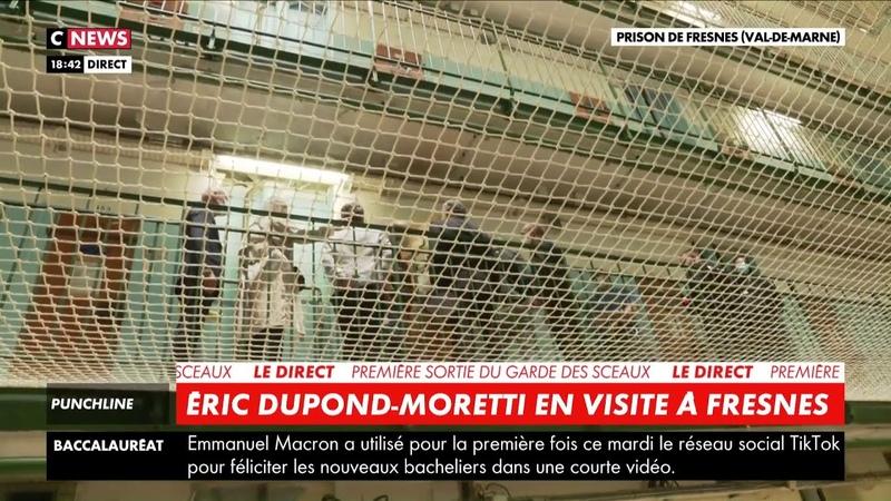 Le cri du cœur des détenus de la prison de Fresnes lors de la visite dÉric Dupond-Moretti