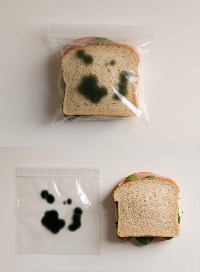 Лайфхак: купила пакетик с рисунком, чтобы на работе не трогали мой перекус
