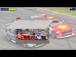 Virgin Australia Supercars Championship: CoreStaff Darwin SuperSprint, Гонка 1,  [A21 Network]