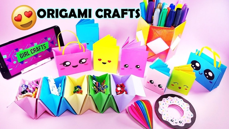 10 COOL PAPER CRAFTS YOU SHOULD TRY TO DO in Quarantine AT HOME Origami Hacks