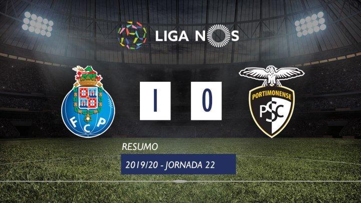 Лига НОШ 2019/20 (Тур 22): Порту – Портимоненсе 1:0