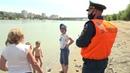 Спасатели проверили безопасность пляжей и мест массового скопления людей вблизи водоёмов