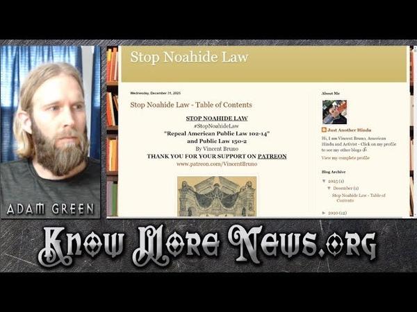 Stop Noahide Laws | KMN LIVE feat. Vincent Bruno