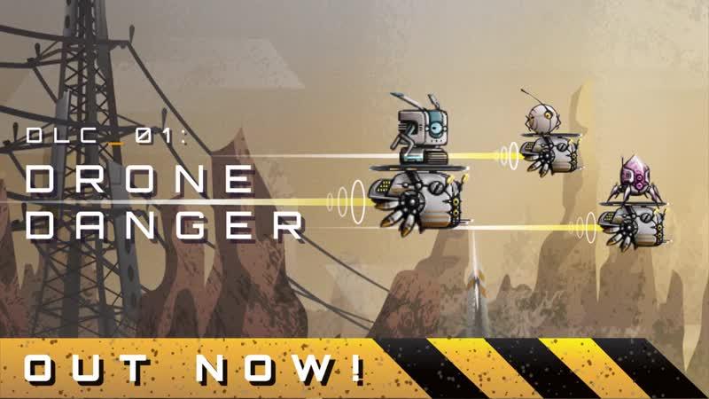 Первое бесплатное дополнение Drone Danger для игры Terraforming Earth