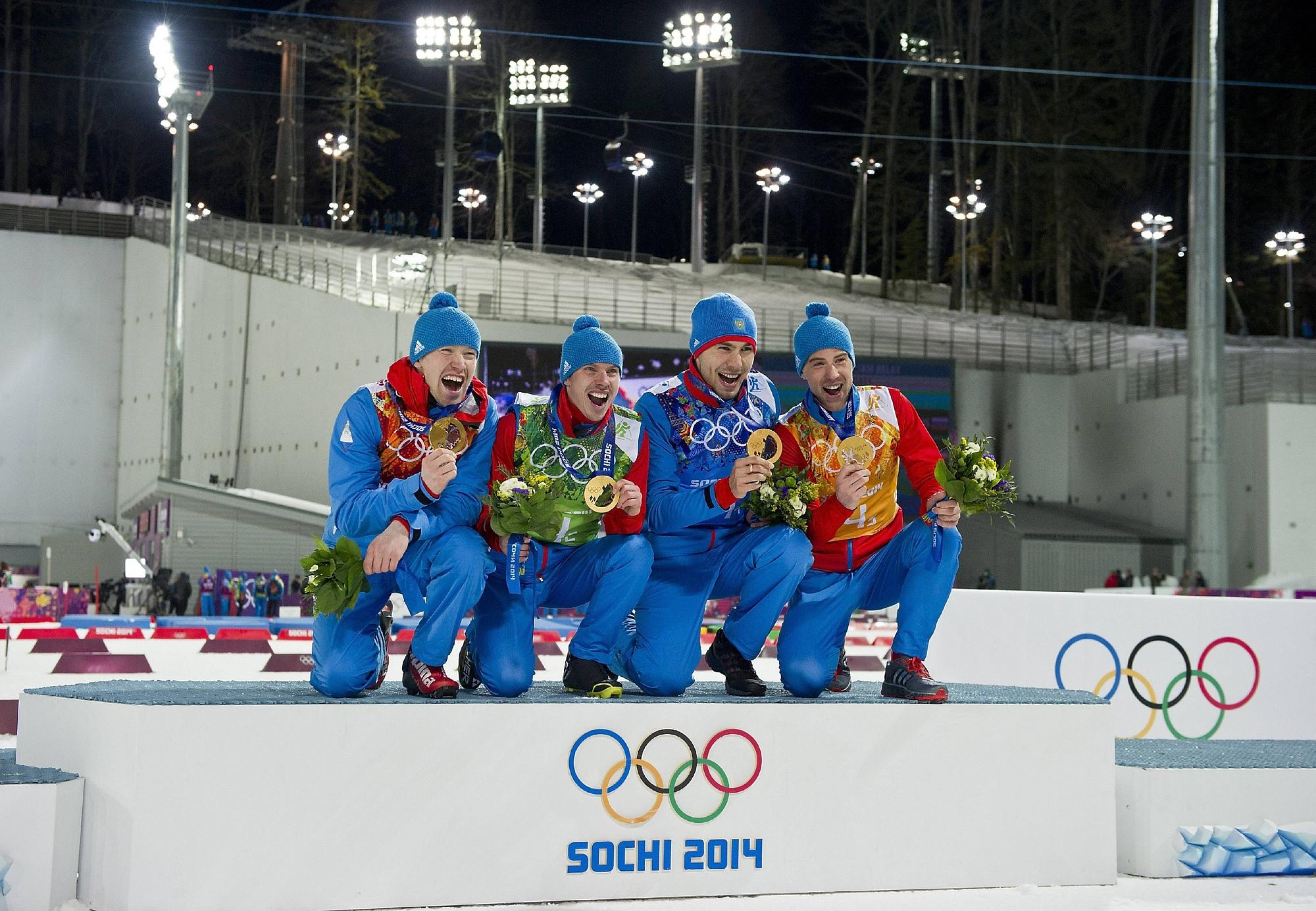 спортсмены занявшие 1 место