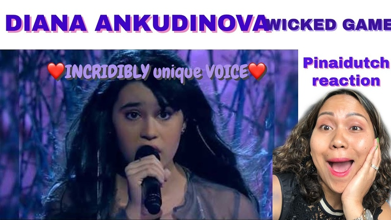 🇳🇱Pinaidutch reacts Diana Ankudinova Wicked Game reaction incridibly unique voice