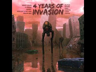 VA - 4 Years Of INVASION Teaser