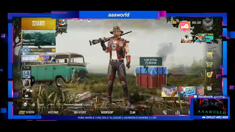 PUBG MOBILE نداء الواجب SOLO VS SQUAD AAAWORLD live PLAY WITH DYNAMO MORTAL