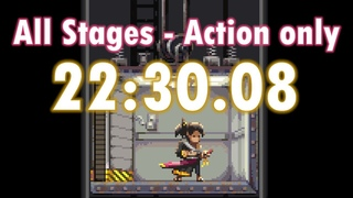 Katana ZERO Speedrun [All Stages - Action Only] - 22: