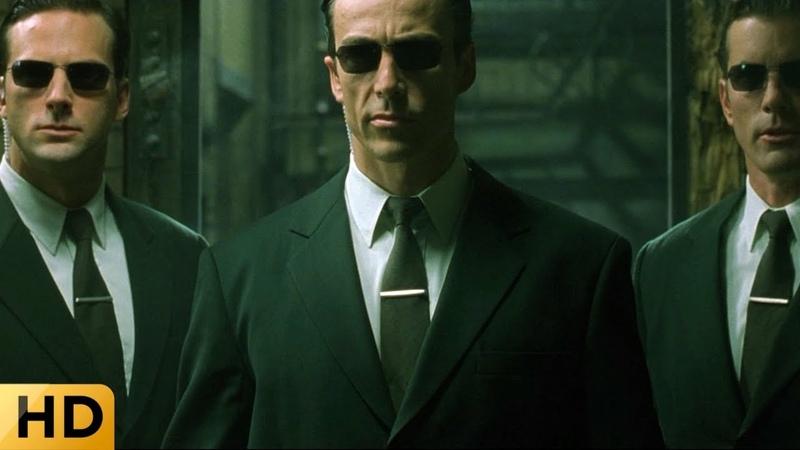 Агенты срывают тайное собрание Матрица Перезагрузка