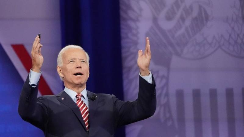 In his latest appearance Joe Biden 'forgets where he is then laughs it off'