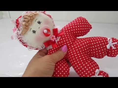 Faça você mesmo uma linda bonequinha bebê com Cris Pinheiro Diy