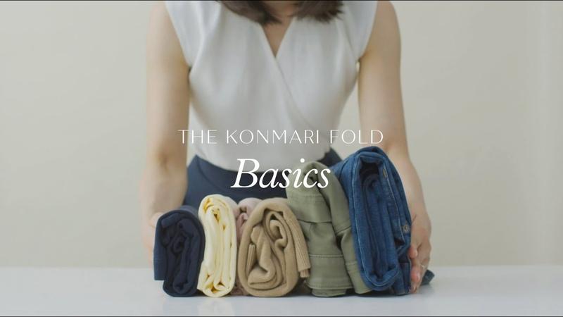 The KonMari Fold Basics