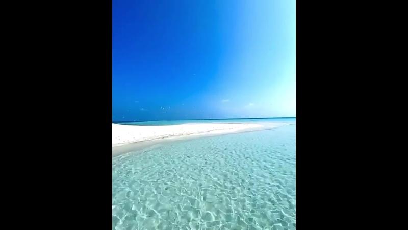 50 оттенков синего на Мальдивах