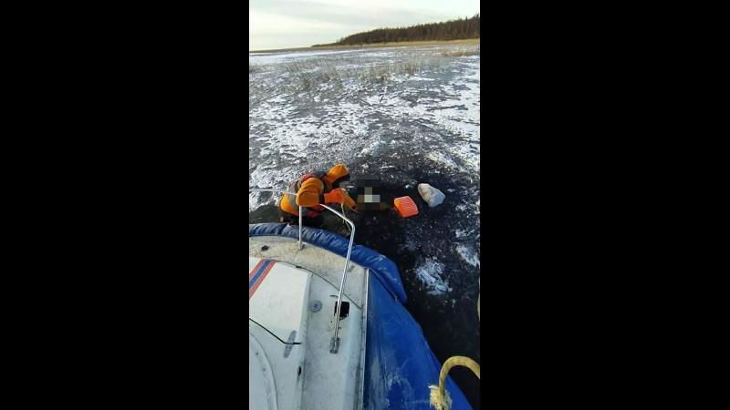 На Ладоге нашли тело пропавшего рыбака