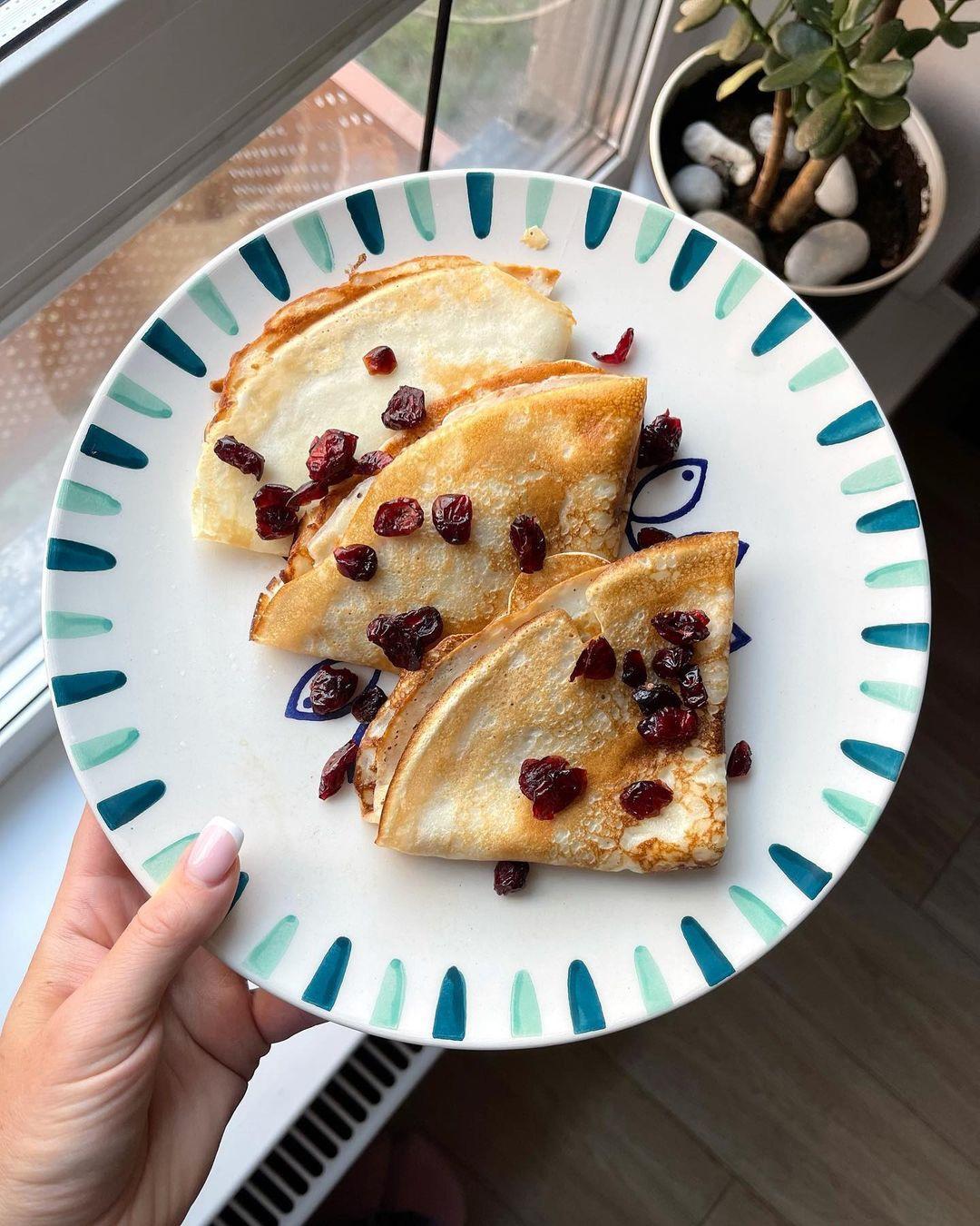 Полезные завтраки до 500 калорий