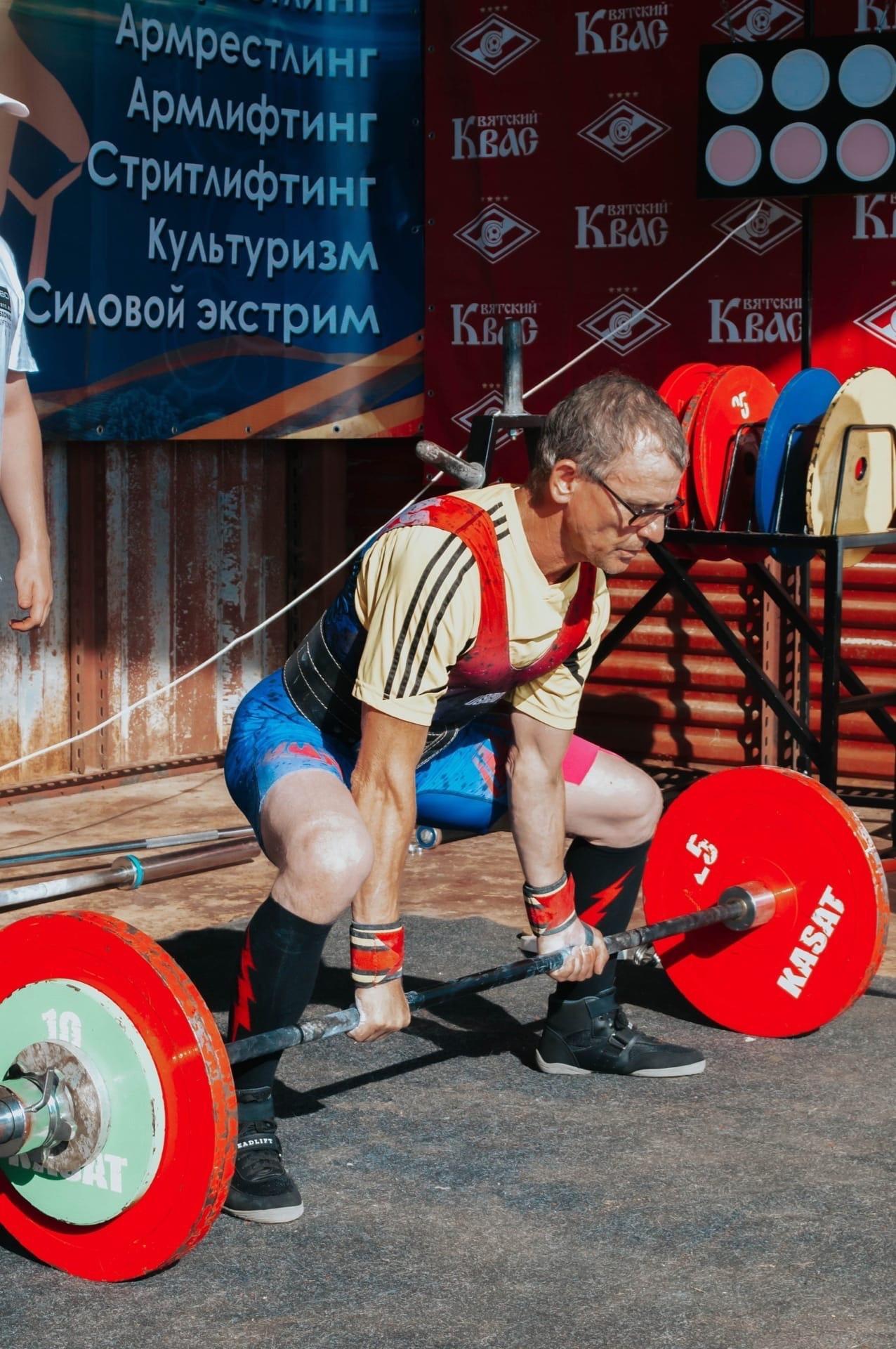 Вячеслав Ельцов из Удмуртии взял золото на