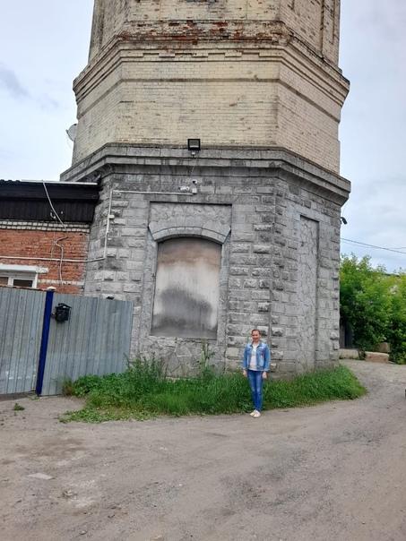 Историческая справка. Водонапорная башня  После пр