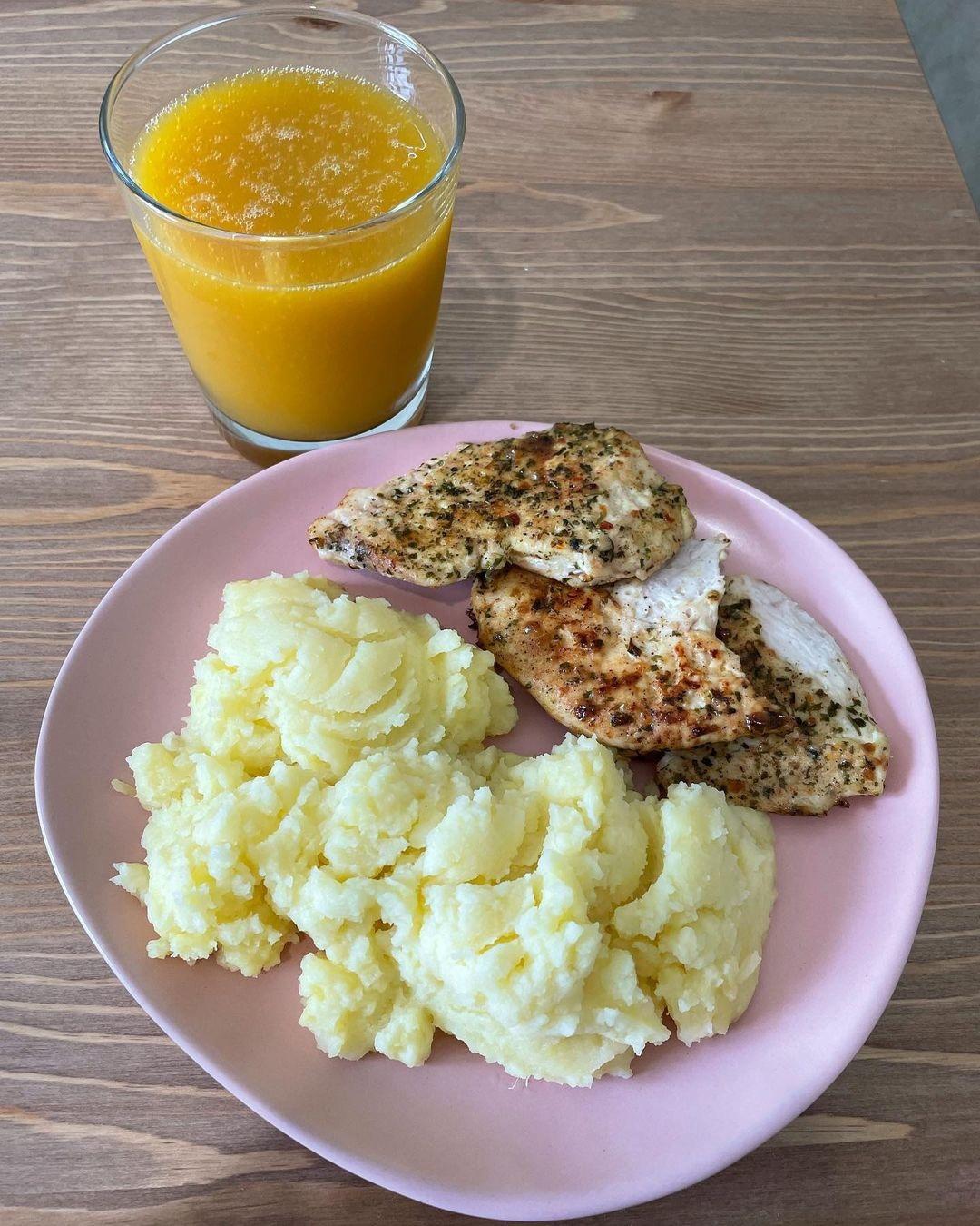 Рацион питания на 1450 калорий