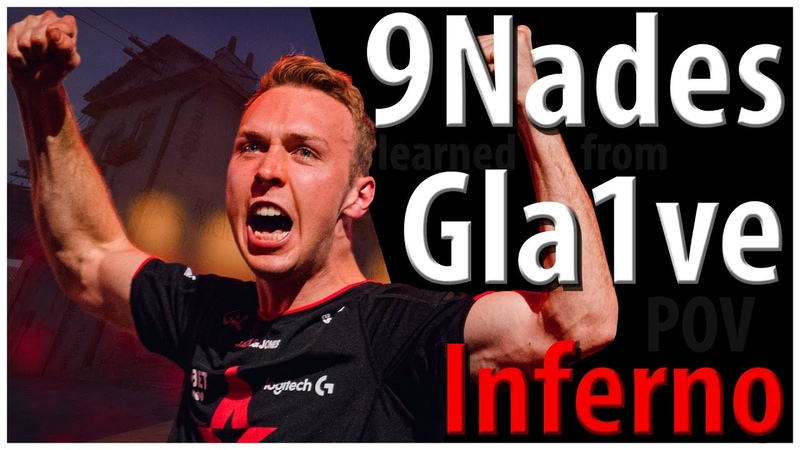 9 Nades learned from Gla1ves POV - Inferno (T)
