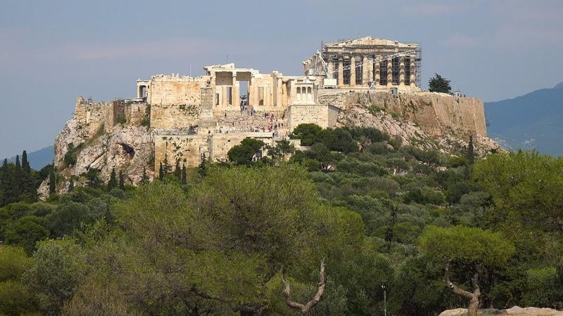 Города мира в 4K Афины (Греция)