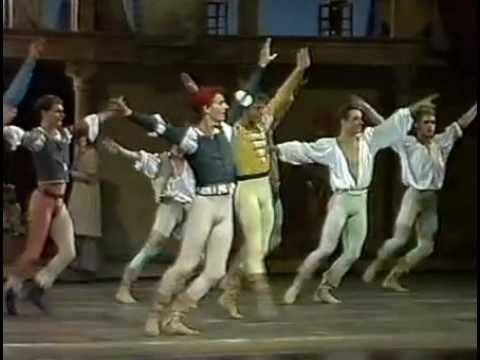 Neumeier's Romeo and Juliet Royal Danish Ballet 1987