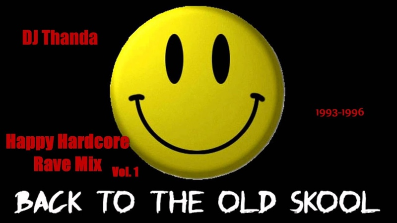 ♫ Happy Hardcore Rave Mix Vol 1 1993 1996 Vinyl Mix by DJ Thanda HD