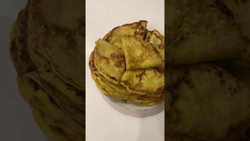 Кабачковые блинчики с начинкой, блинчики из кабачков. Zucchini pancakes with stuffing