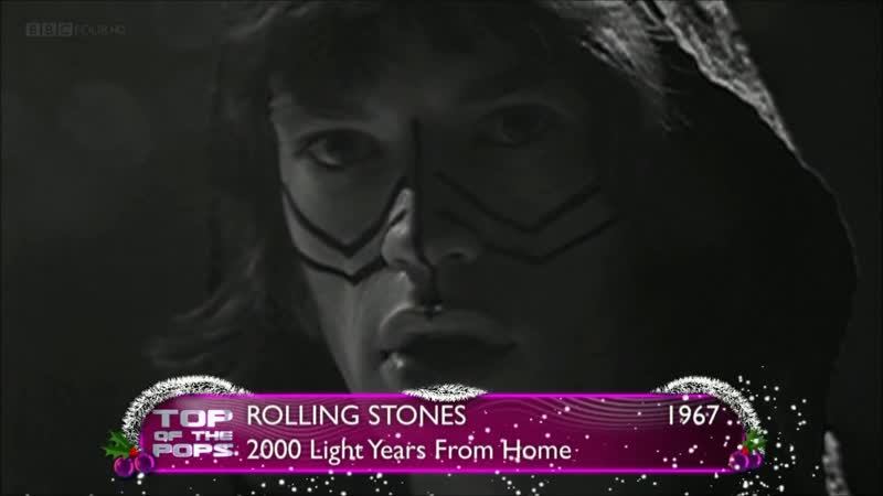 The Rolling Stones - 2000 Light Years from Home (Live at British Music Chart TV Programme Top of The Pops on December 1967)