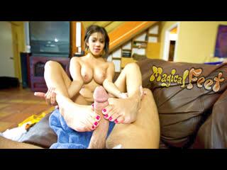 Vanessa Leon [HD Porn, POV, Footjob, Big Tits, Handjob, Toes, Fetish, Feet, Cumshot, Teen, Latina, Brazzers]
