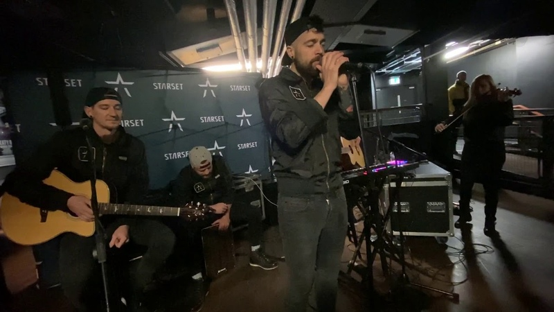 Starset Satellite [Acoustic] (Manchester, England - February 11, 2020)
