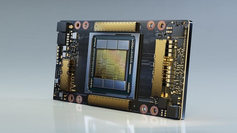 NVIDIA GTC 2020 Keynote Part 6 NVIDIA A100 Data Center GPU Based on NVIDIA Ampere Architecture