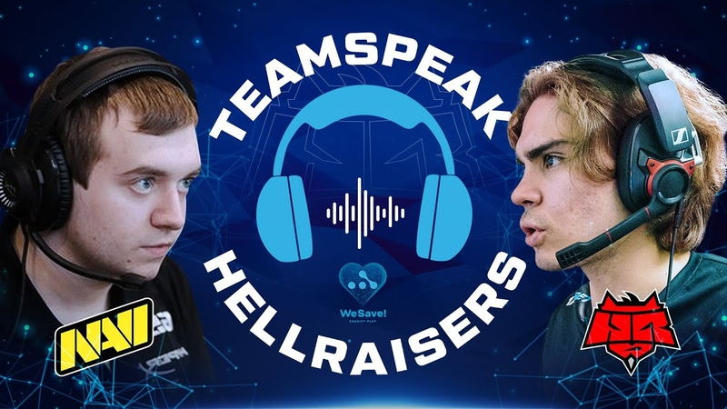 ТИМСПИК HELLRAISERS vs NAVI ФИНАЛ СНГ WeSave Charity Play HellRaisers Dota 2 esports