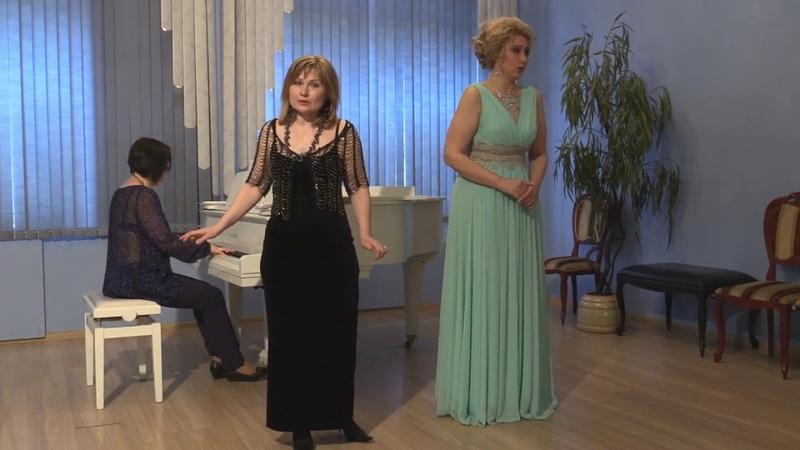 Ирина Осинская и Светлана Фетисова. И.Дунаевский Разливается, рассыпается за рекой соловей