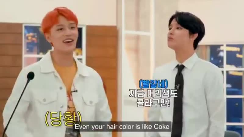 Jungwoo and taeil had a debate about coke vs sprite AND JUNGWOO WENT ALL OUT HELPPPDPDJSJD