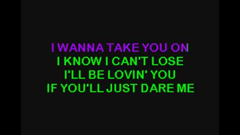 The Pointer Sisters Dare Me Baby Make Your Move Dave Amstrong Stupidisco Karaoke With Background