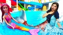 Соревнования Барби и Зумы Щенячий патруль в аквапарке! Тойклаб ищет игрушки - Видео для девочек