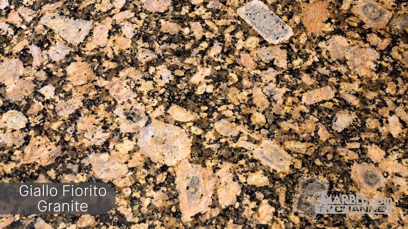 Giallo Fiorito Granite Kitchen Countertops